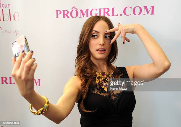 87c3dbf050a Alexa Ray Joel Partners With PromGirl to Launch  PromGirlUp Selfie Campaign  at Gramercy Park Hotel