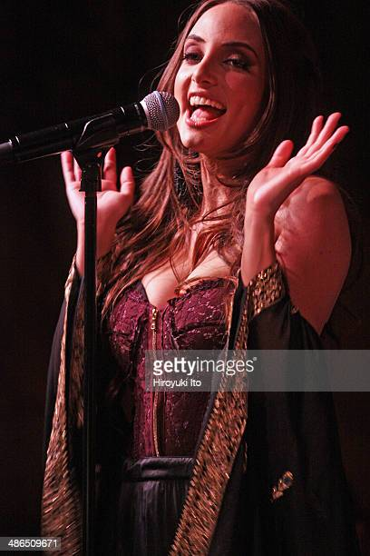 Alexa Ray Joel performing at Cafe Carlyle on Tuesday night April 1 2014