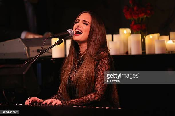 Alexa Ray Joel performs at Cafe Carlyle on March 6 2015 in New York City