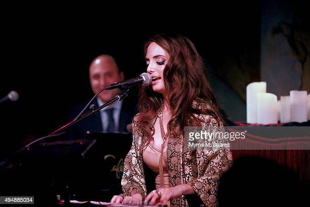 Alexa Ray Joel performs at Cafe Carlyle on October 29 2015 in New York City