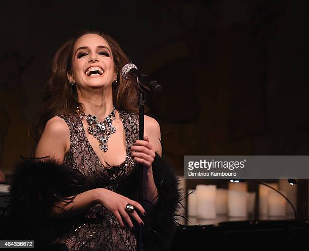 Alexa Ray Joel performs in concert at Cafe Carlyle on February 24 2015 in New York City