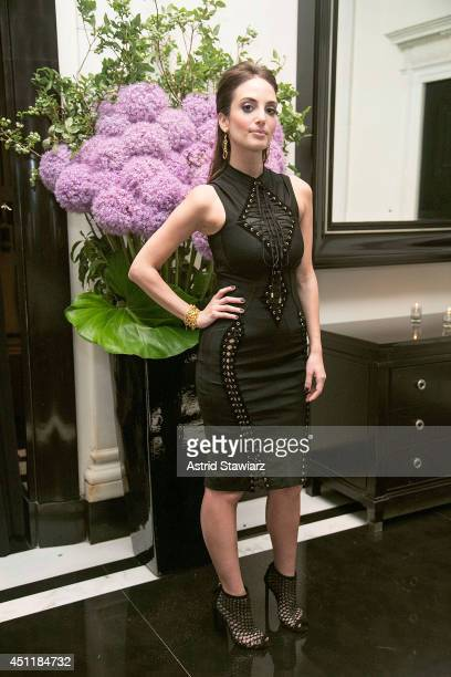 Alexa Ray Joel poses for photos after her concert at Cafe Carlyle on June 24 2014 in New York City