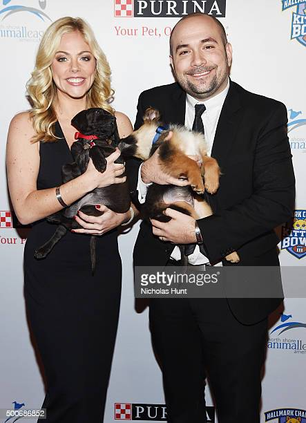 Alexa Rosenberg Peter Rosenberg attends the 2015 North Shore Animal League America Gala at The Pierre Hotel on November 20 2015 in New York City