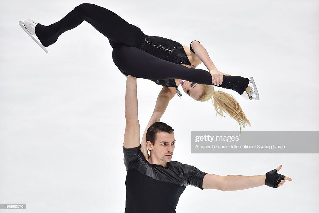 NHK Trophy ISU Grand Prix of Figure Skating 2015 - Day 1