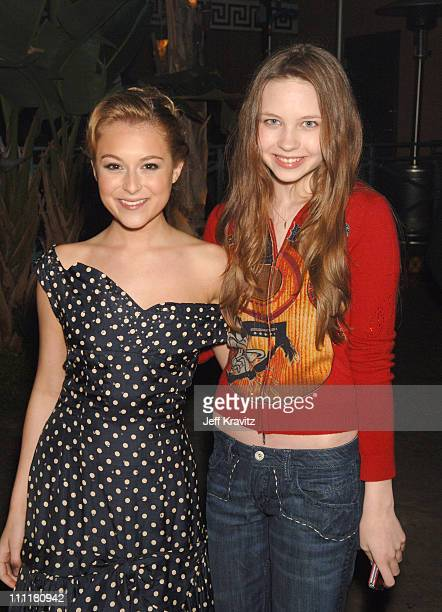 Alexa Vega and Daveigh Chase during HBO Films Walkout Premiere Red Carpet and After Party at Cinerama Dome in Hollywood California United States