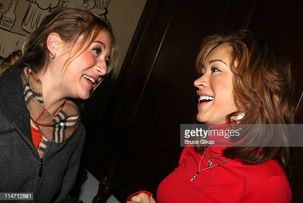 Alexa Vega and Diana DeGarmo who Vega replaced in the role of Penny