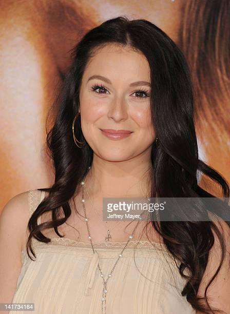 Alexa Vega arrives at The Vow Los Angeles Premiere at Grauman's Chinese Theatre on February 6 2012 in Hollywood California