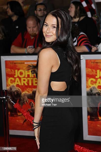 Alexa Vega arrives at the world premiere of Disney's John Carter held at Regal Cinemas LA Live on February 22 2012 in Los Angeles California
