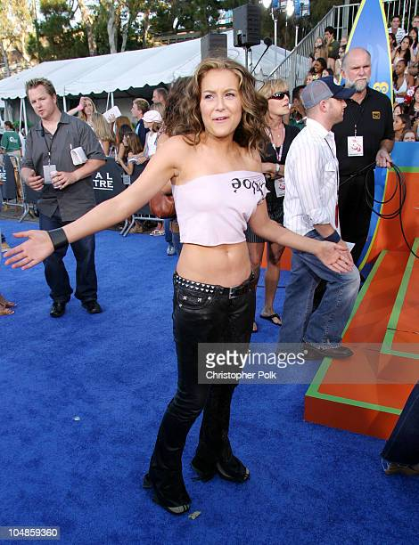 Alexa Vega during 2003 Teen Choice Awards Arrivals at Universal AmphiTheater in Universal City California United States