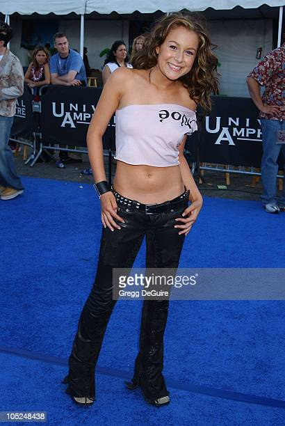 Alexa Vega during 2003 Teen Choice Awards Arrivals at Universal Amphitheatre in Universal City California United States
