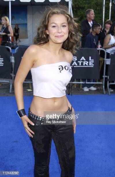 Alexa Vega during 2003 Teen Choice Awards Blue Carpet at Universal Amphitheatre in Universal City California United States