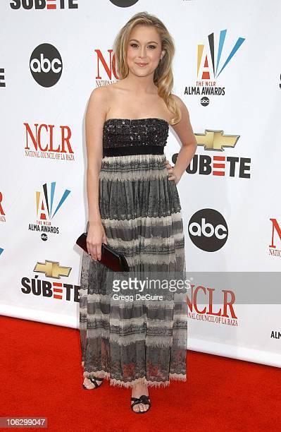 Alexa Vega during 2007 NCLR ALMA Awards Arrivals at Pasadena Civic Center in Pasadena California United States
