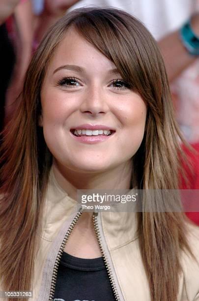 Alexa Vega during Alexa Vega Visits MTV's TRL July 6 2004 at MTV Studios Times Square in New York City New York United States