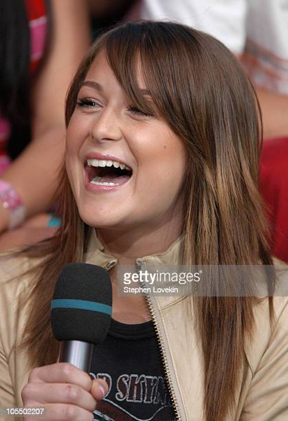 Alexa Vega during Alexa Vega Visits MTV's TRL July 6th 2004 at MTV Studios in New York City New York United States