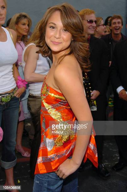 Alexa Vega during MTV Movie Awards 2004 Backstage and Audience at Sony Pictures Studios in Culver City California United States