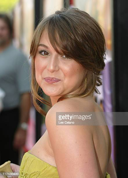 Alexa Vega during Sleepover World Premiere Red Carpet at ArcLight Cinerama Dome in Hollywood California United States