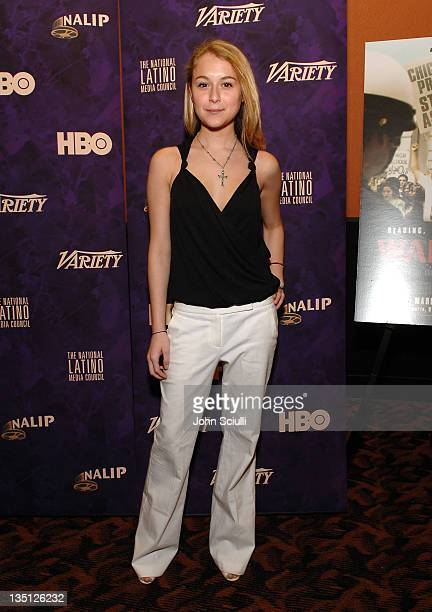 """Alexa Vega during """"Walkout"""" Screening Presented by the National Association of Latino Independent Producers Conference 7, HBO, Variety and The..."""
