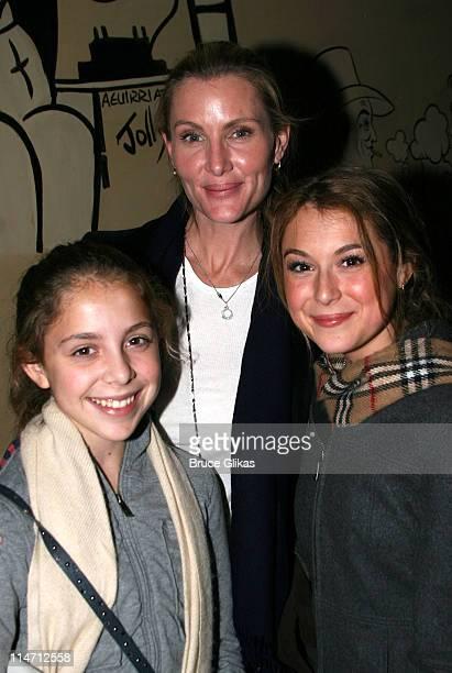 Alexa Vega with her mother and sister Makenzie Vega