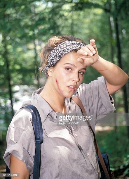 """Alexa Wiegandt, PRO 7 - Serie """"Glueckliche Reise"""", Folge 12, """"Kanada"""", Episode 1 """"Die ungleichen Brueder"""", , Kanada/Amerika, Wildnis, Verletzung,..."""