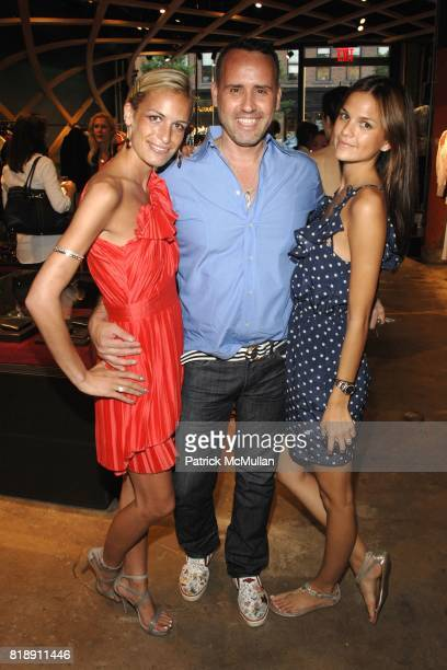 Alexa Winner Scott Buccheit and Allie Rizzo attend Hugo Boss New York Girl Style Shop Style Event at Hugo Boss on May 25 2010 in New York City