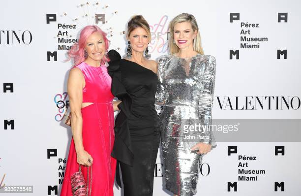 Alexa Wolman Guest and Suzy Buckley attend PAMM Art Of The Party Presented By Valentino at Perez Art Museum Miami on March 17 2018 in Miami Florida
