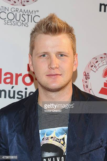 Alexander Acha attends the Latin Grammy Acustic Sessions at Centro Cultural Roberto Cantoral on June 3, 2015 in Mexico City, Mexico.