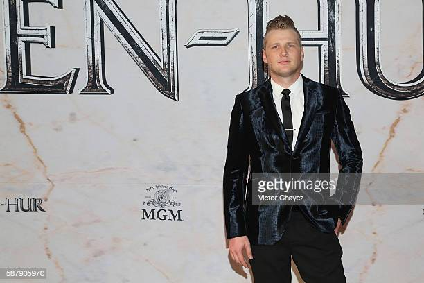 """Alexander Acha attends the Mexico Premiere of the Paramount Pictures """"Ben-Hur"""" at Metropolitan Theater on August 9, 2016 in Mexico City, Mexico."""