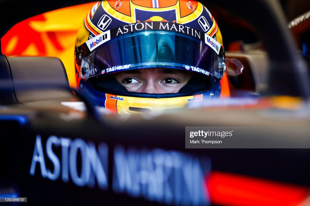 Red Bull Racing RB16 Filming Day : News Photo