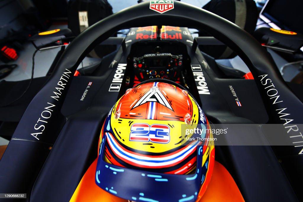 F1 Grand Prix of Abu Dhabi - Practice : News Photo