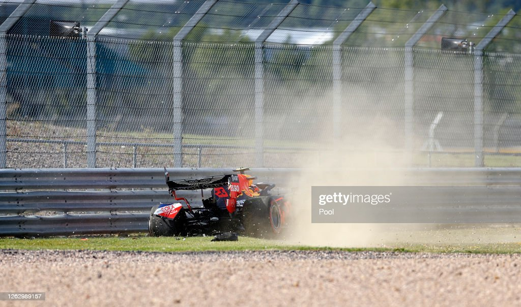 F1 Grand Prix of Great Britain - Practice : News Photo