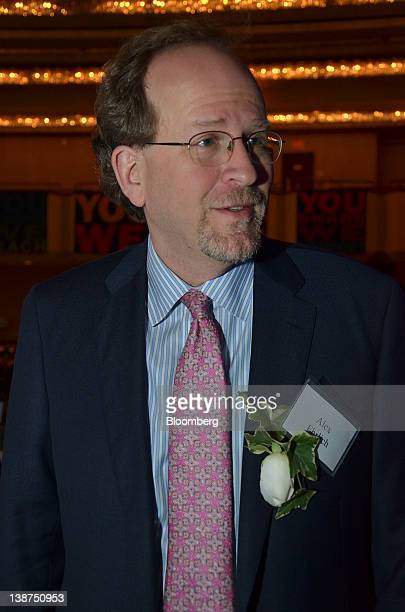 Alexander Alex Ehrlich global head of prime brokerage for Morgan Stanley attends the UJAFederation of New York Wall Street Dinner in New York US on...
