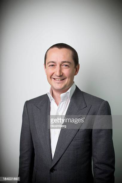 Alexander 'Alex' Molyneux chairmandesignate of Blumont Group Ltd poses for a photograph after a Bloomberg Television interview in Hong Kong China on...