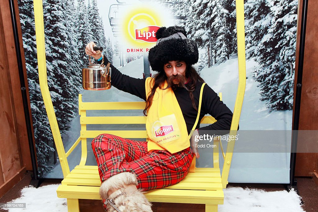 Alexander Antebi attends Sears Shop Your Way Digital Recharge Lounge on January 18, 2013 in Park City, Utah.