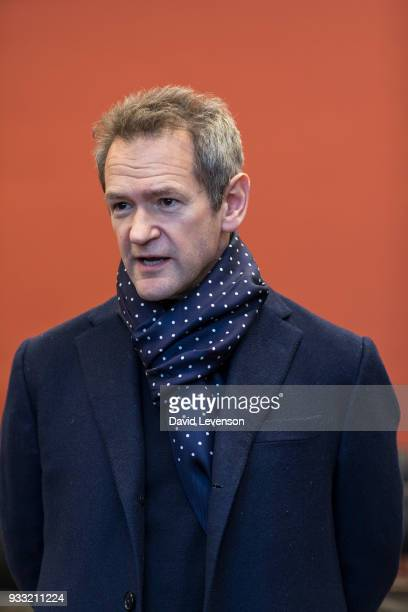 Alexander Armstrong actor singer and comedian at the FT Weekend Oxford Literary Festival on March 17 2018 in Oxford England