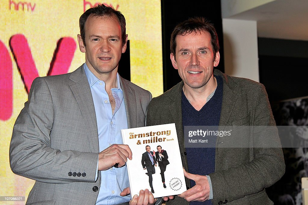 'The Armstrong & Miller Book' - Signing