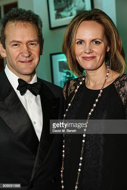 Alexander Armstrong and Hannah Bronwen Snow attend the BAFTA Film Gala in aid of the 'Give Something Back' campaign at BAFTA Piccadilly on February...