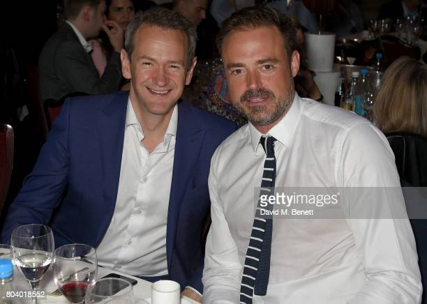 Alexander Armstrong and Jamie Theakston at the Nordoff Robbins O2 Silver Clef Awards at The Grosvenor House Hotel on June 30 2017 in London England