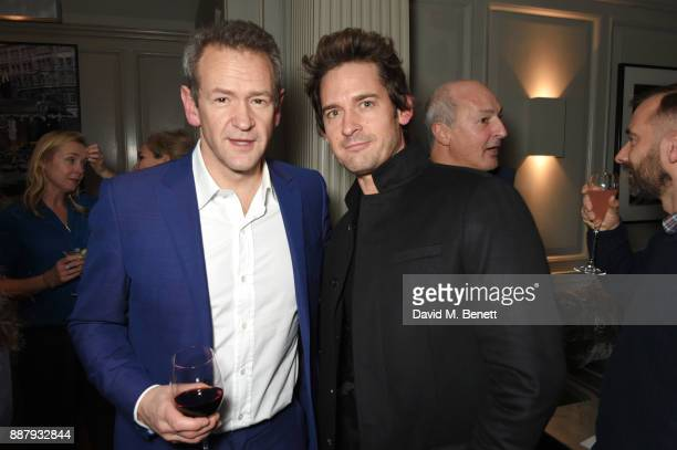"Alexander Armstrong and WIll Kemp attend a private view after party for new Royal Academy Of Arts exhibition ""From Life"" hosted by artist Jonathan..."
