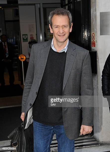 Alexander Armstrong at The BBC on October 20 2015 in London England