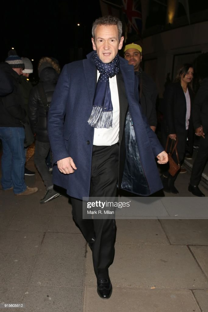 London Celebrity Sightings -  February 07, 2018