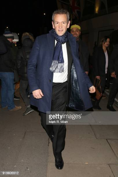 Alexander Armstrong attending the Broadcast Awards on February 7 2018 in London England