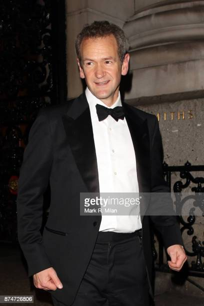 Alexander Armstrong attending the The Leopard Awards in Aid of The Prince's Trust on November 15 2017 in London England