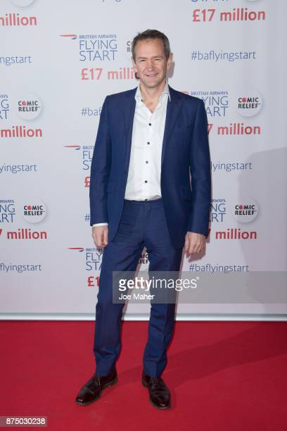 Alexander Armstrong attends a British Airways event celebrating the airline raising GBP17 million for Comic Relief through its Flying Start...