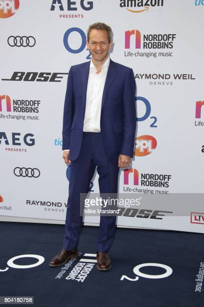 Alexander Armstrong attends Nordoff Robbins O2 Silver Clef awards at The Grosvenor House Hotel on June 30 2017 in London England