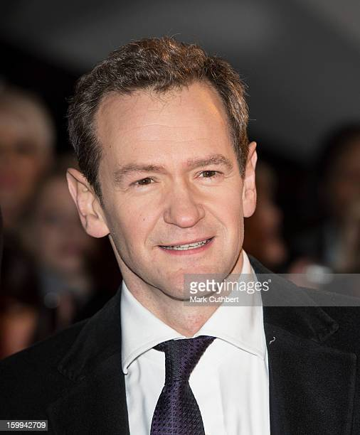 Alexander Armstrong attends the National Television Awards at 02 Arena on January 23 2013 in London England