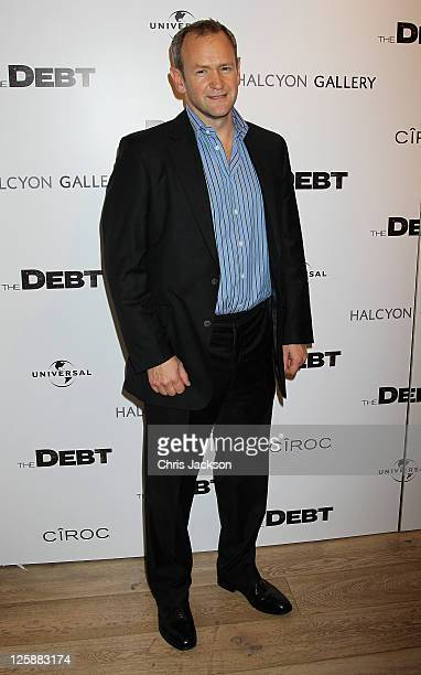 Alexander Armstrong attends the UK premiere of The Debt after party at The Halcyon Gallery on September 21 2011 in London England The film releases...