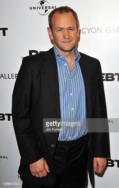 Alexander Armstrong attends the UK premiere of 'The Debt' at The Halcyon Gallery on September 21 2011 in London England