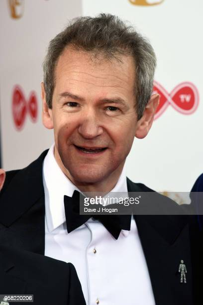 Alexander Armstrong attends the Virgin TV British Academy Television Awards at The Royal Festival Hall on May 13 2018 in London England