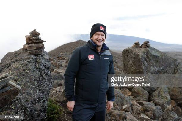 Alexander Armstrong during day five of 'Kilimanjaro The Return' for Red Nose Day on February 27 2019 in Arusha Tanzania all to raise funds for Comic...