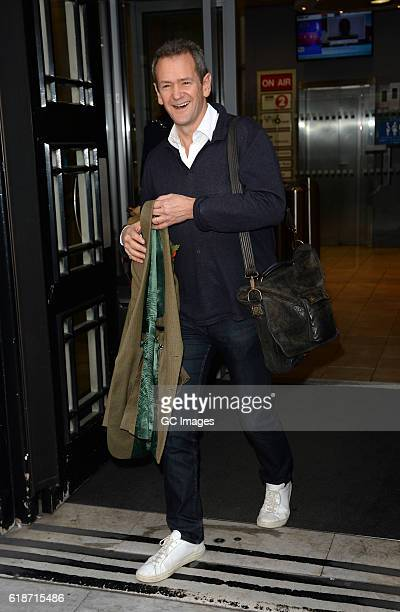 Alexander Armstrong sighting at BBC Radio 2 on October 28 2016 in London England